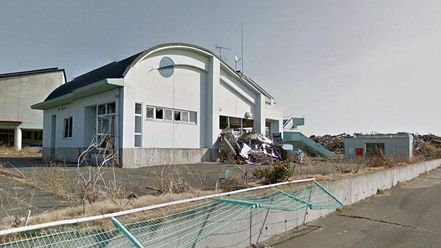Google maps Japan nuclear zone