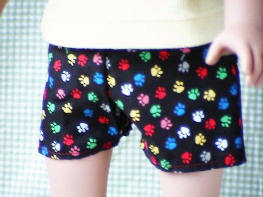 Pawprint Doll Boxers