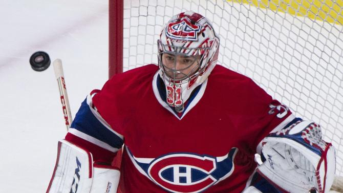 Canadiens blank Sabres 2-0