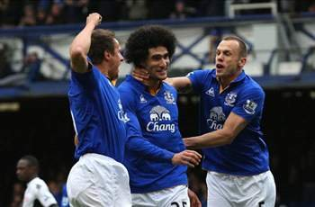 Fellaini: Everton determined to finish in top four