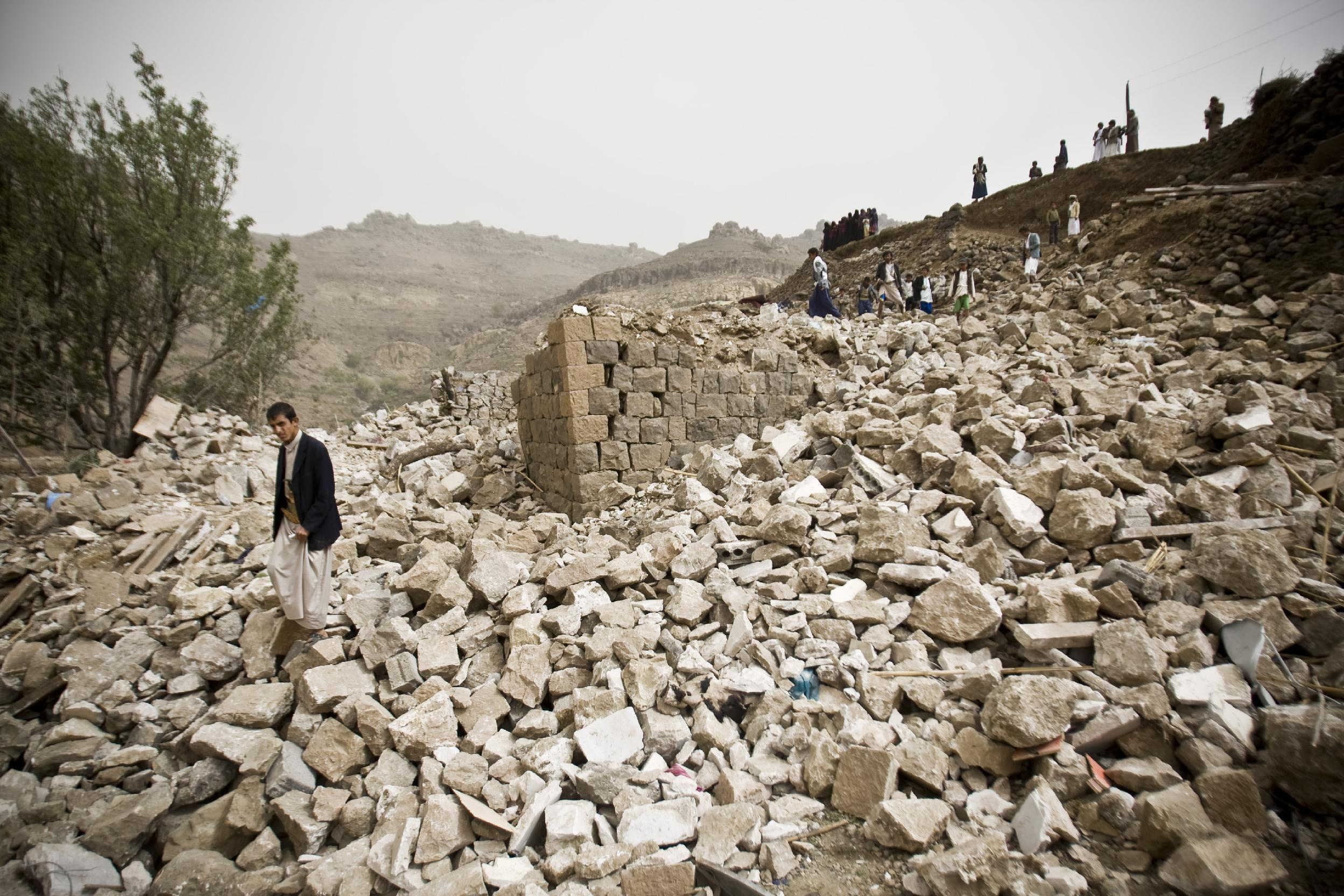 UN: High civilian toll in Yemen conflict; at least 550 dead