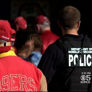 Security Increased For 49ers-Seahawks Game At Candlestick Park