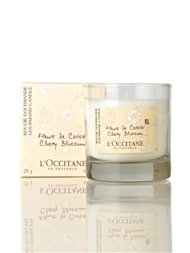 L'Occitane cherry blossom scented candle