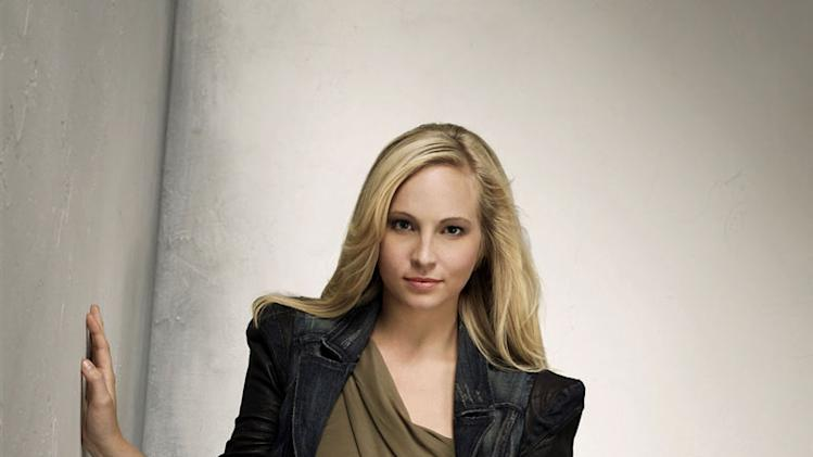 "Candice Accola stars as Caroline in ""The Vampire Diaries."""