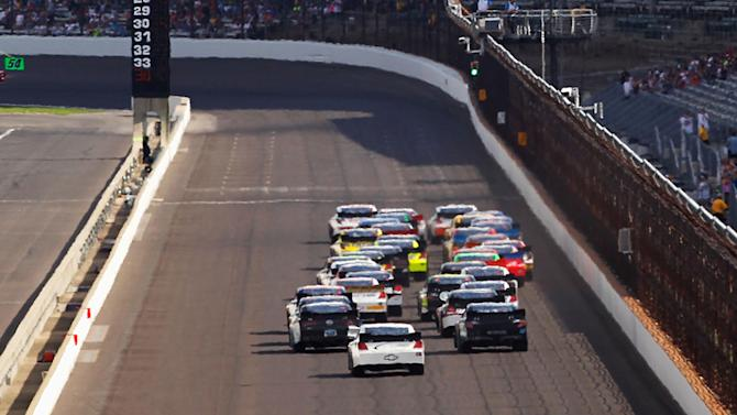 Entry list for Nationwide race at Indianapolis