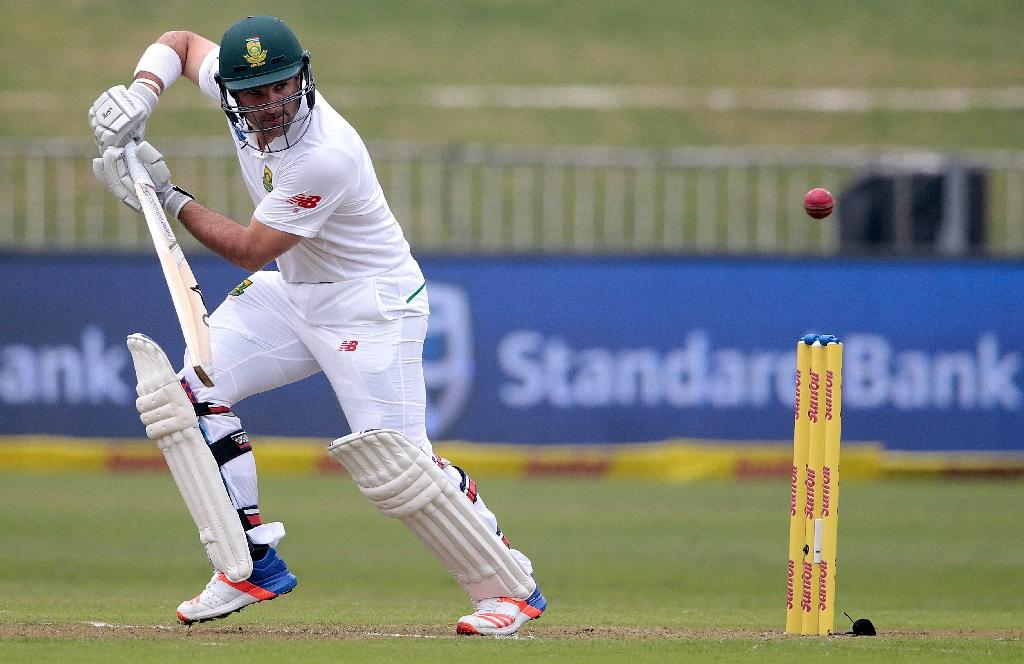 Elgar, du Plessis run riot for South Africa in final tour game