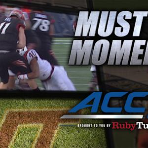 Virginia Tech D with the Double Scoop & Score | ACC Must See Moment