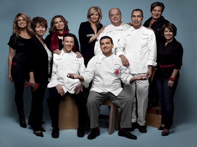 The cast of &quot;Cake Boss.&quot; 