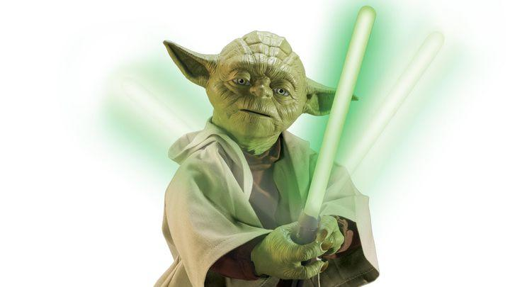 Tiny, expensive Yoda bot can teach you force push, lightsaber waggling
