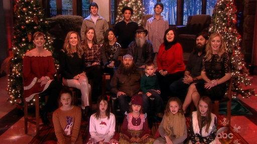 The Duck Dynasty Family Performs