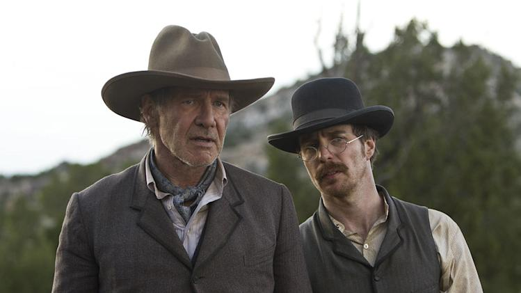 Cowboys and Aliens 2011 Universal Pictures Harrison Ford Sam Rockwell