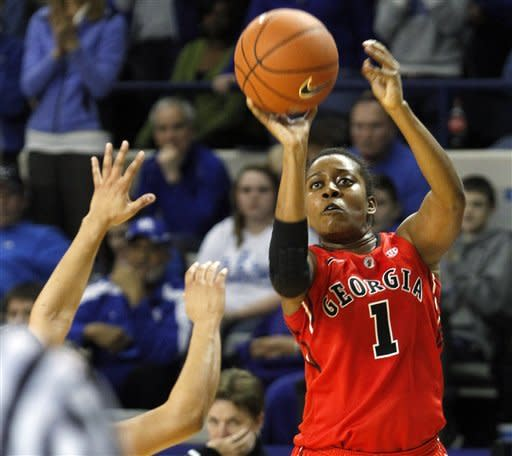 Miller scores 25 as Georgia women beat Kentucky