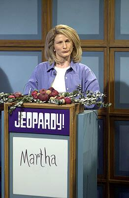 Ana Gasteyer as Martha Stewart on NBC's Saturday Night Live Saturday Night Live