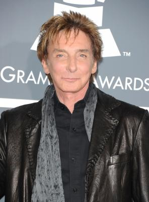 Barry Manilow arrives at The 53rd Annual GRAMMY Awards held at Staples Center in LA  on February 13, 2011  -- Getty Premium