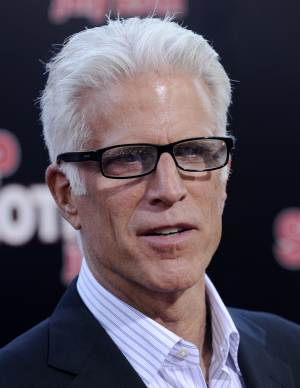 """FILE - Ted Danson poses at the premiere of the film """"Step Brothers"""" in Los Angeles, in this July 15, 2008 file photo. It's a long way from running a bar on the sitcom """"Cheers,"""" but this fall Ted Danson will join the cast of """"CSI: Crime Scene Investigation,"""" CBS announced late Tuesday July 12, 2011. (AP Photo/Chris Pizzello, File)"""
