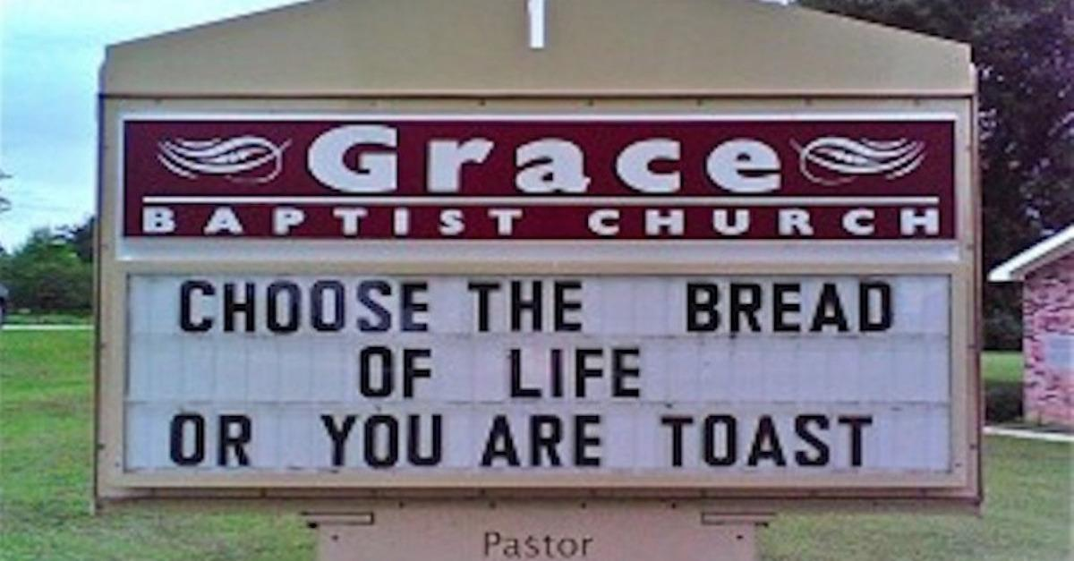 19 Hilarious Church Signs You Won't Believe