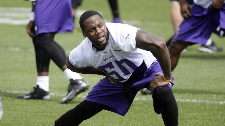 Vikings LB Henderson arrested again for DWI