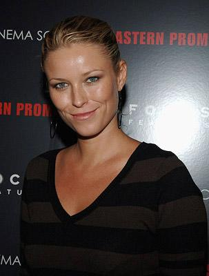 Kiera Chaplin at the New York City Premiere of Focus Features' Eastern Promises