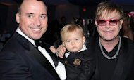 Sir Elton: My Son Will Face 'Gay' Jibes