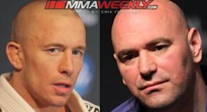 Dana White: Georges St-Pierre's UFC Contract Frozen Until Return