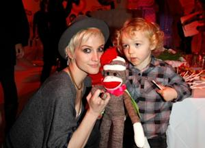 Ashlee Simpson attends the launch of Lucky Kids Magazine held at Siren Studios on April 7, 2011 in Hollywood -- WireImage