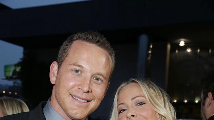 Cole Hauser and Cynthia Daniel at FilmDistrict's Premiere of 'Olympus Has Fallen' hosted by Brioni and Grey Goose at the ArcLight Hollywood, on Monday, March, 18, 2013 in Los Angeles. (Photo by Eric Charbonneau/Invision for FilmDistrict/AP Images)