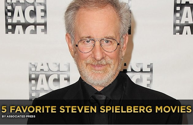5 Favorite Steven Spielberg Movies Gallery Title Card