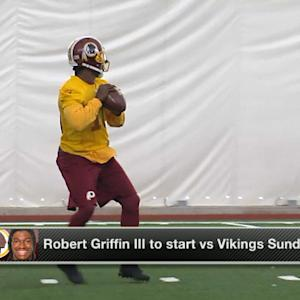 NFL Media Insider Ian Rapoport: Robert Griffin III to start Sunday