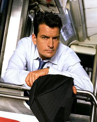 Charlie Sheen as Charlie in ABC's Spin City Spin City