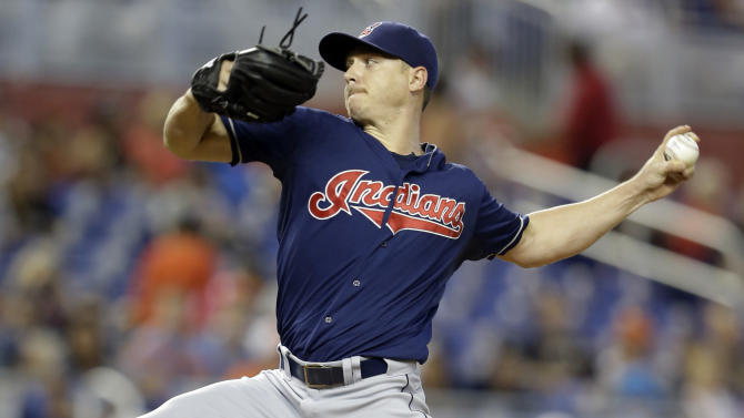 Kazmir, Indians beat Marlins 2-0