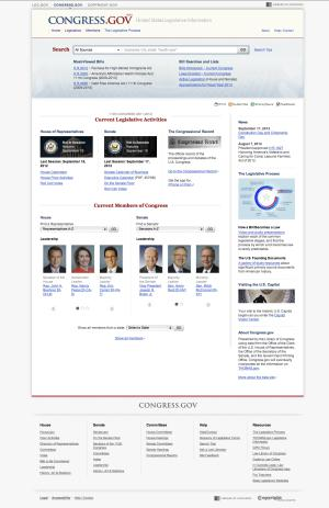 New search engine offers better access to Congress