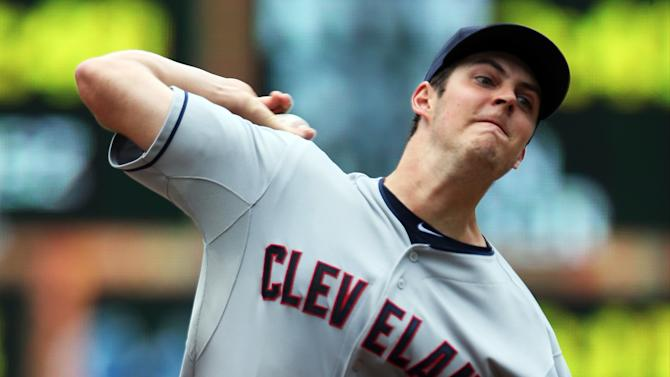 Fill-in Swarzak pitches Twins past Indians 3-1