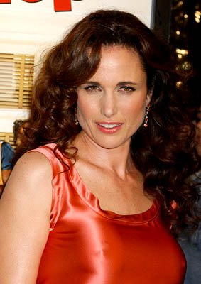 Andie MacDowell at the LA premiere of MGM's Beauty Shop