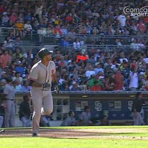 Dominguez's first career homer