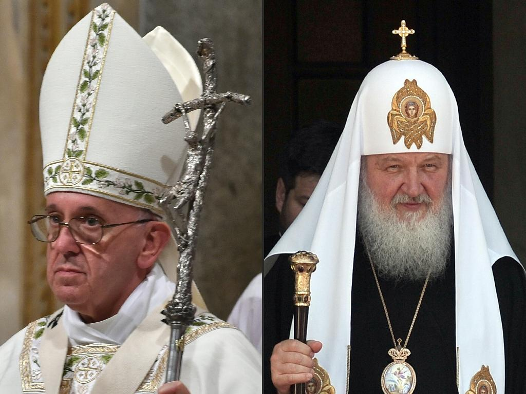 Russian church hopes 'historic' pope talks will reset ties