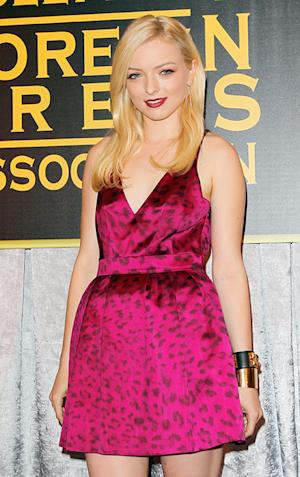 Francesca Eastwood Afraid She'll Fall Onstage Presenting Trophies as Miss Golden Globe