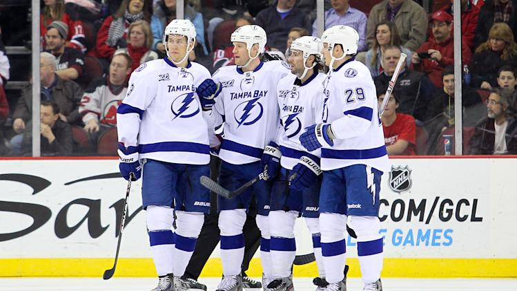 NHL: Tampa Bay Lightning at New Jersey Devils
