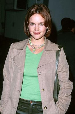 Premiere: Carla Gugino at the Zanuck Theater premiere of 20th Century Fox's Tigerland - 10/3/2000