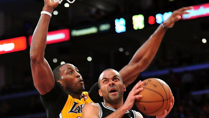 NBA: Playoffs-San Antonio Spurs at Los Angeles Lakers