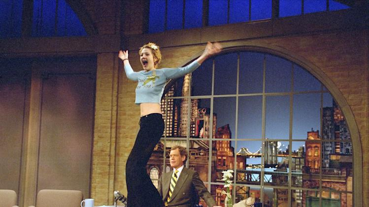 """Late Show With David Letterman"": Drew Barrymore"