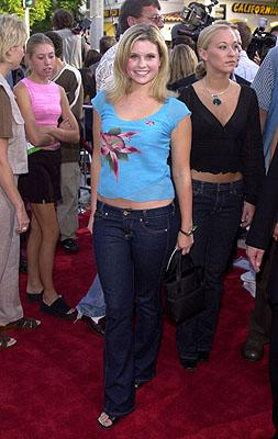 Premiere: Joanna Garcia at the Westwood premiere of Universal's The Fast and The Furious - 6/18/2001