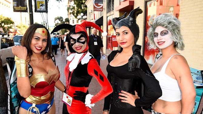 Guests attend Day 1 of Comic-Con International 2014 on July 24, 2014 in San Diego, California