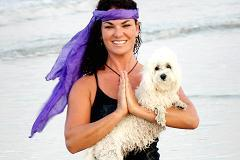 Downward-facing human? Yoga has gone to the dogs