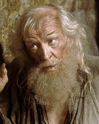 Richard Harris as Abbe Faria in Touchstone's The Count of Monte Cristo