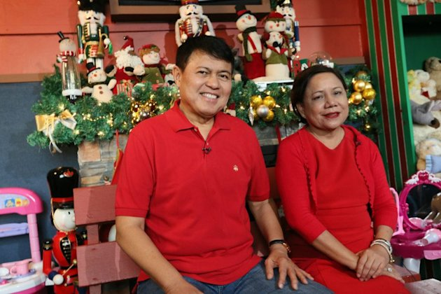 It was not love at first sight, but that hasn't been a problem for the political couple popularly dubbed 'Mr. Sipag at Tiyaga' and 'Mrs. Hanapbuhay.'