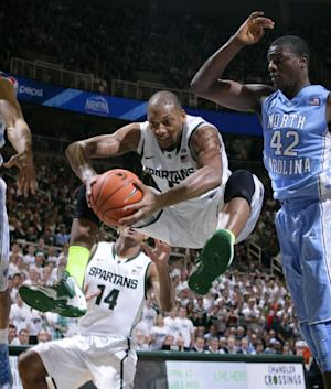 North Carolina beats No. 1 Michigan State 79-65