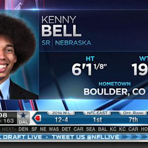 Tampa Bay Buccaneers pick wide receiver Kenny Bell No. 162 in 2015 NFL Draft