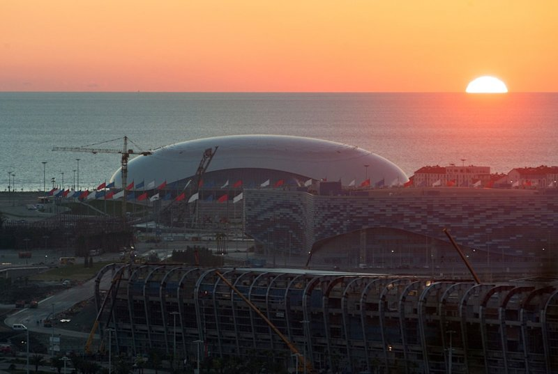 sochi sunset