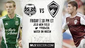 Portland Timbers vs. Colorado Rapids | MLS Match Preview
