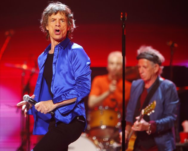 The Rolling Stones perform during their &quot;50 &amp; Counting&quot; worldwide tour in Anaheim
